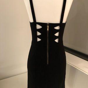 Urban Outfitters Cutout Little Black Dress